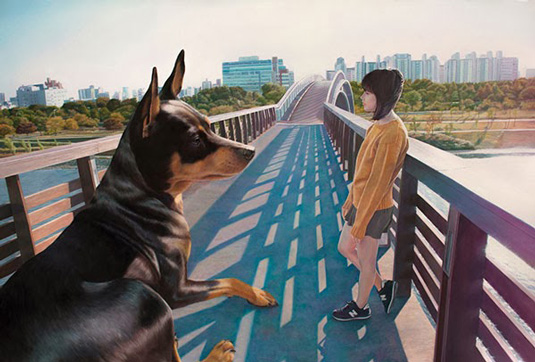 Jeong-Woo-Jae-cachorro-garota-04
