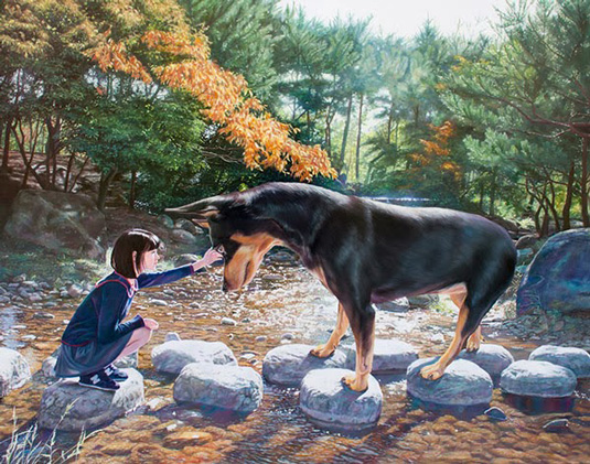 Jeong-Woo-Jae-cachorro-garota-08