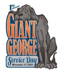 George, o gigante. Foto: Reprodução/Facebook