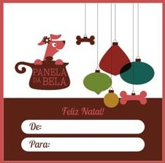 Cartão de natal. (Foto: Reprodução / Facebook)