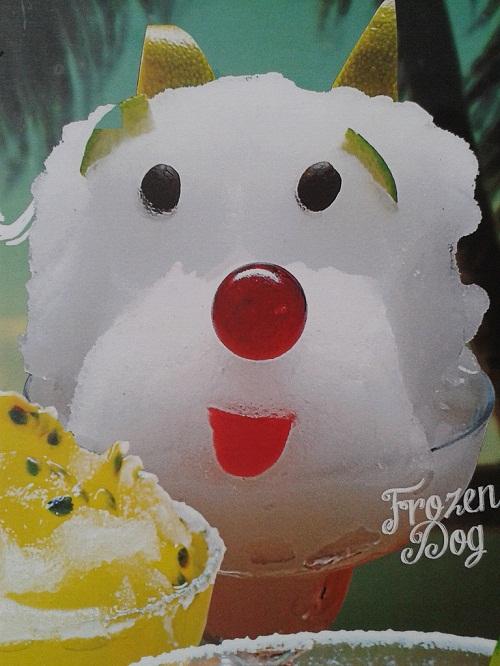 Margarita Frozen Dog no cardápio. (Foto: Reprodução / cardápio Jordão Bar)