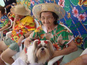 Festinha de São Jõao com a Alfhaville Dogs. Foto: Divulgação