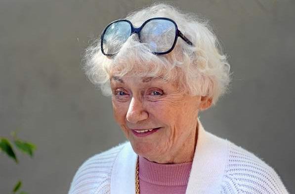 Judy Guth, proprietária do prédio. Foto: Michael Owen Baker/L.A. Daily News