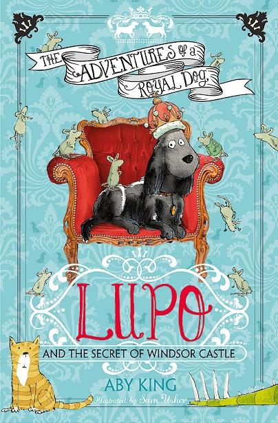 Lupo será um herói numa série de livros infantis. (Foto: Reprodução / People Pets)