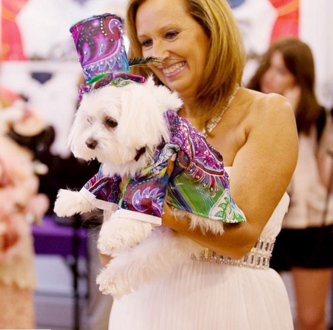 Cachorro com roupa especial. (Foto: Reprodução / ABC News)
