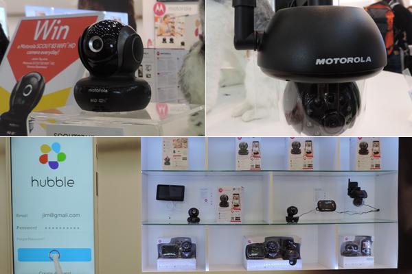 Câmeras para pets da Motorola. Fotos: Fabio Sakita/Portal do Dog
