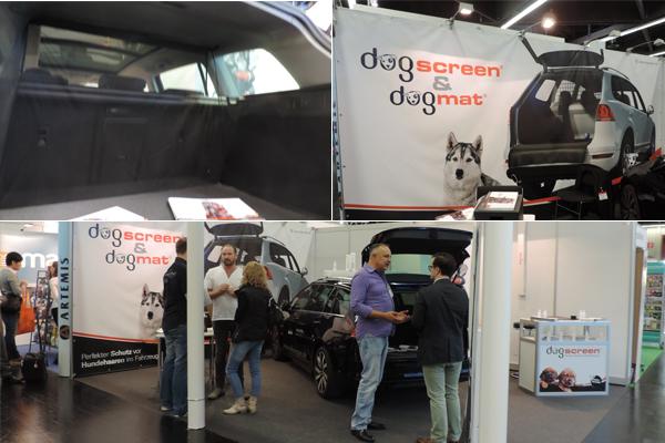 Dog Mat e Screen protegem o carro dos pelos caninos. Fotos: Fabio Sakita/Portal do Dog
