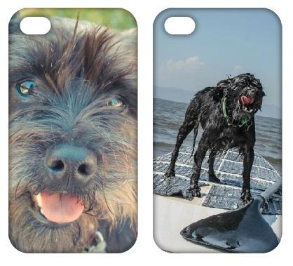Você pode ter um case personalizado com a foto do seu cão. (Foto: Reprodução / Open Pet)