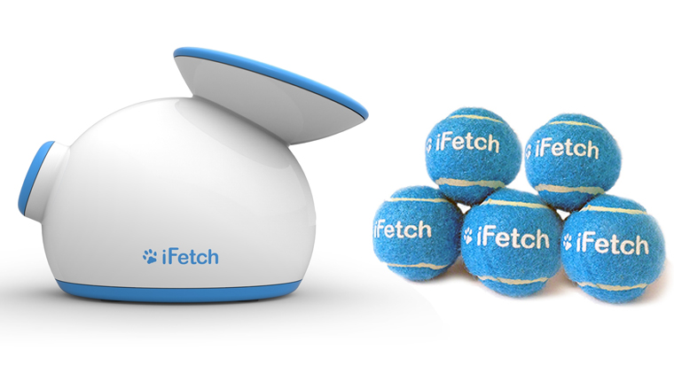 iFetch e as bolinhas personalizadas. Foto: Reprodução