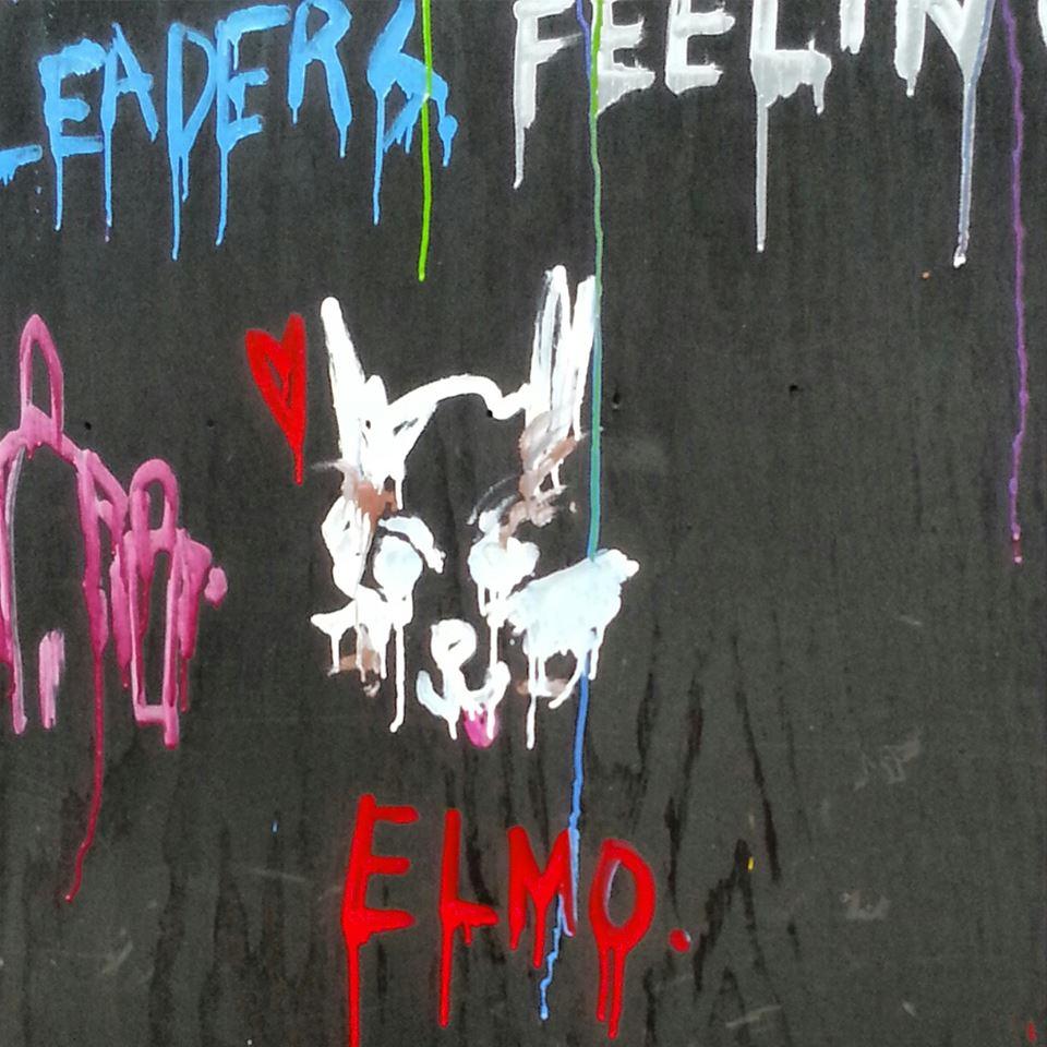 James pediu para um grafiteiro homenagear o cachorro. (Foto: Reprodução / Buzzfeed)