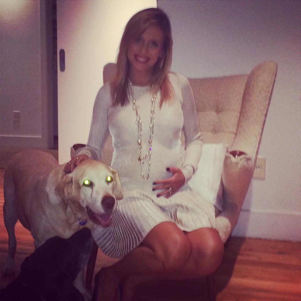 Luisa Mell e o cachorro Marley. (Foto: Reprodução / Facebook)