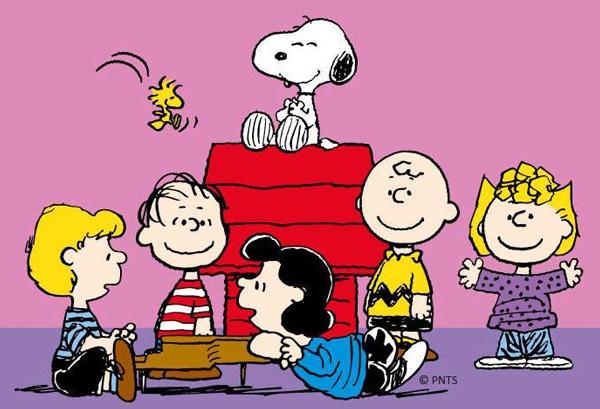 Snoopy e toda a turma do Charlie Brown (Foto: Reprodução / Dogster)