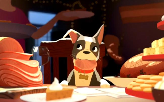 Winston adora comer! (Foto: Reprodução / Entertainment Weekly)