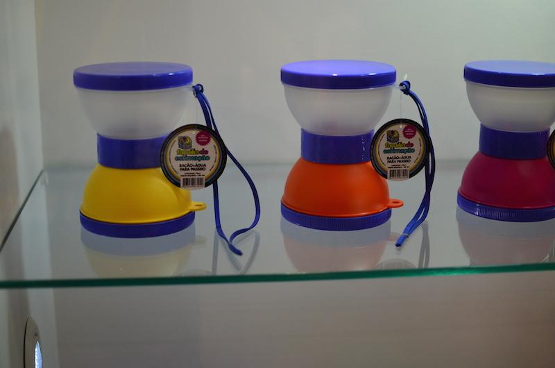 A lancheirinha pode ser montada com diversas cores. (Foto: Fabricio Ladeira)