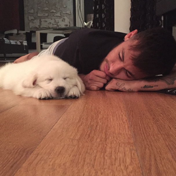 Momento soneca. (Foto: Reprodução / Instagram)
