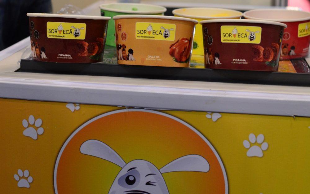 Sorvecão - sorvete para cachorros. (Foto: Fabricio Ladeira)