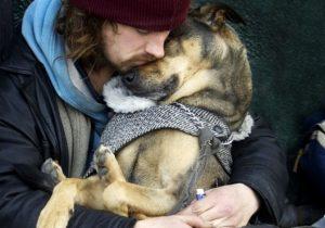 O relacionamento entre homens e cachorros é surpreendente. (Foto: Reprodução / Bark Post)