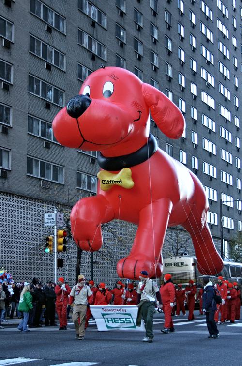 Clifford, o gigante cão vermelho.
