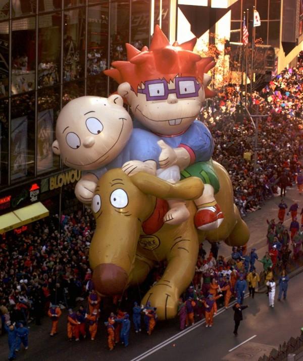 Rugrats, com o cachorro Spike. (Foto: Reprodução / Bark Post)