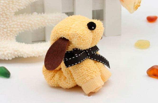 toalhas-arranjo-formato-cachorro