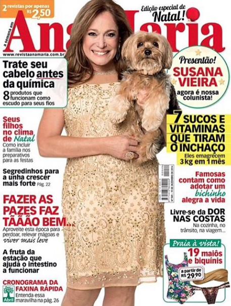 Susana Vieira e o cão Bob. (Foto: Reprodução / Instagram)