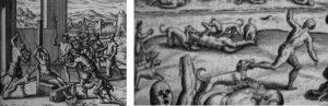 Lâmina XI. Obra de Theodor de Bry.