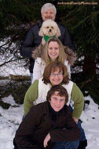 Foto: Reprodução/awkwardfamilyphotos