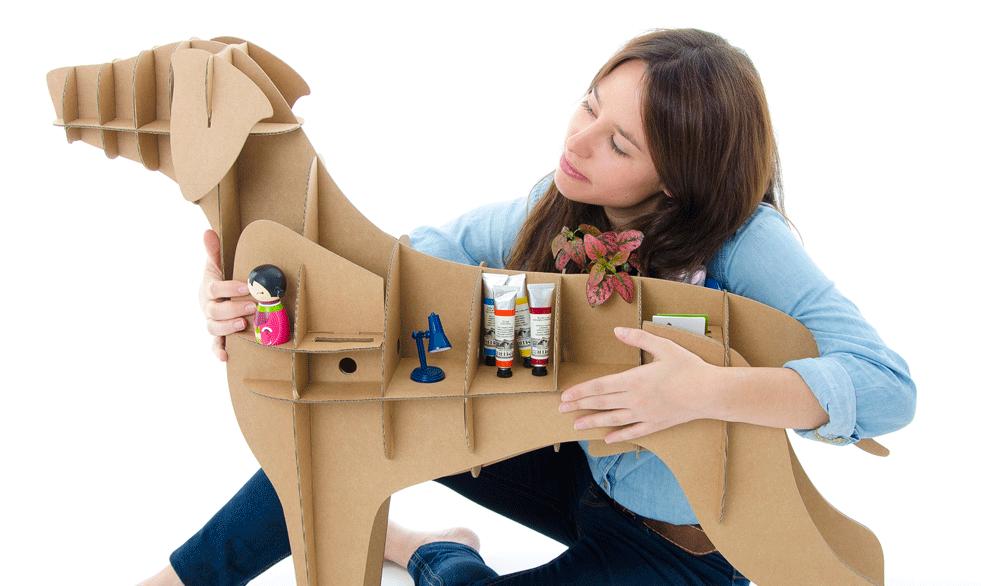 Organizador no formato de um Labrador. (Foto: Reprodução / Curiosite)