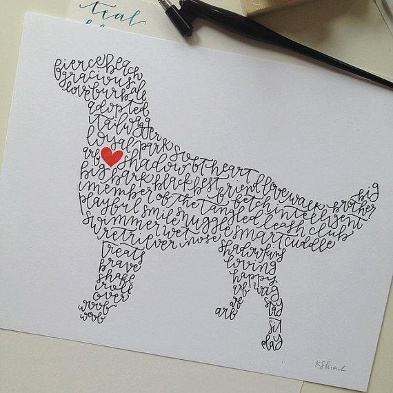Ilustração canina. (Foto: Divulgação)