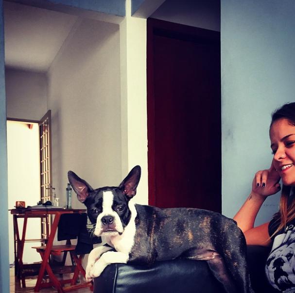 Maria Cecilia com Violeta. (Foto: Reprodução / Instagram)
