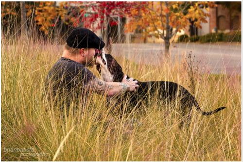 Um cachorro adotado sempre demonstra sua gratidão. (Foto: Reprodução / brimanphoto.com)