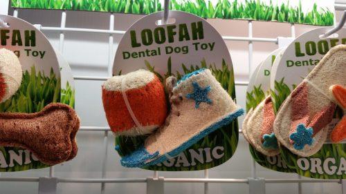 Brinquedo de material orgânico. (Foto: Divulgação)