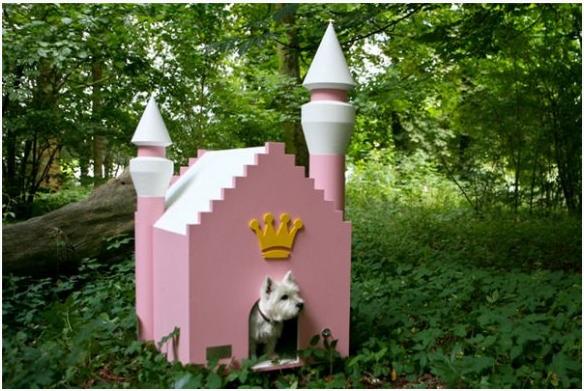 Casinha que parece um castelo de princesa. (Foto: Divulgação)