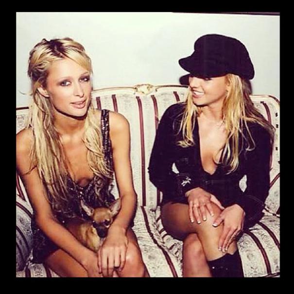 Com Britney Spears. (Foto: Reprodução / Instagram)