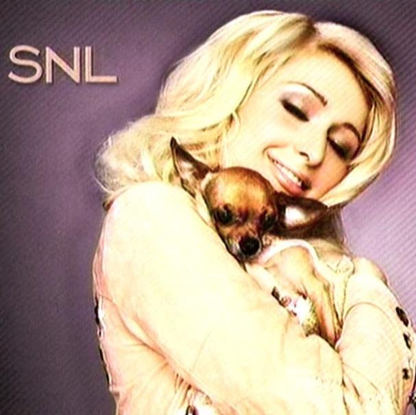 No programa de televisão Saturday Night Live. (Foto: Reprodução / Instagram)