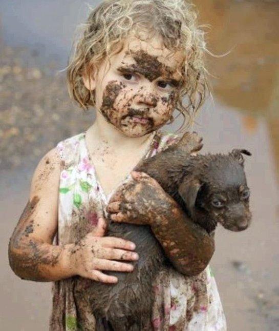 Um pouquinho de lama faz bem, não é? (Foto: Reprodução / Pawnation)