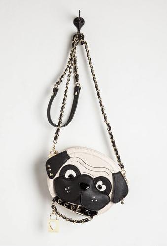 Bolsa de pug promete agradar qualquer dog lover. (Foto: Reprodução / Mod Cloth)