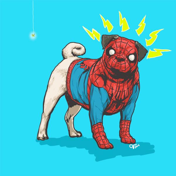 Homem-aranha. (Foto: Josh Lynch)