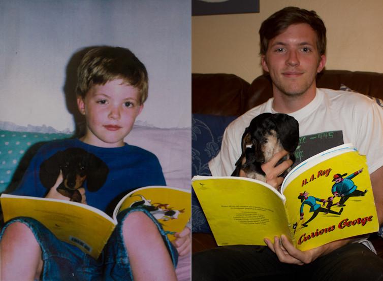 """""""Meu cachorro teve de ser sacrificado na semana passada depois de 14 anos incríveis de companheirismo, descanse em paz Docker."""" (Foto: Reprodução / The Dodo)"""
