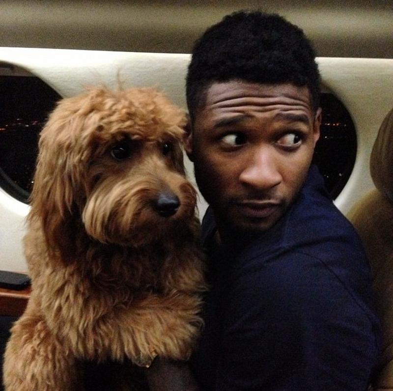 Usher. (Foto: Reprodução / Mom.me)