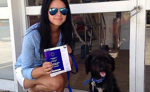 Georgia levou a cadela Pepper para sua casa. (Foto: Reprodução / Bark Post)