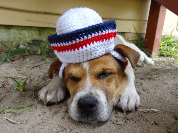 Cachorro marinheiro. (Foto: Reproução / Etsy)