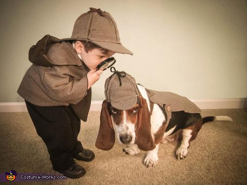 Sherlock Homes e Watson. (Foto: Reprodução / Bark Post)