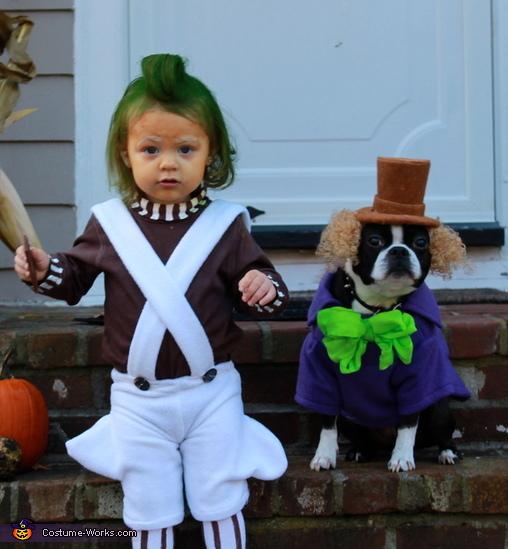Willy Wonka e Oompa Loompa da Fantástica Fábrica de Chocolate.  (Foto: Reprodução / Bark Post)
