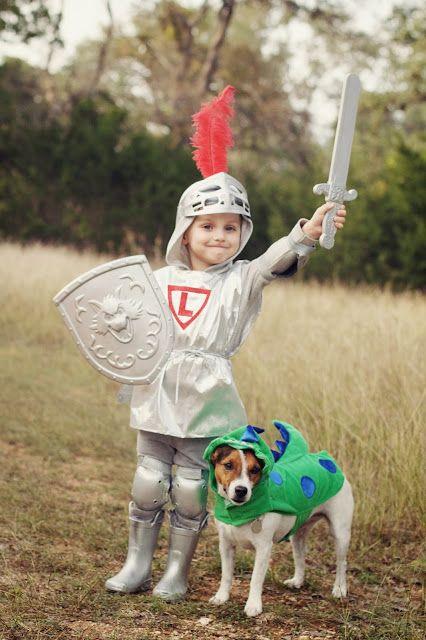 Cavaleiro e dragão;  (Foto: Reprodução / Bark Post)