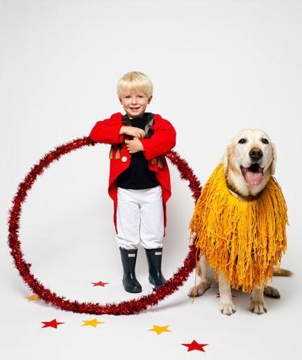 Domador e leão.  (Foto: Reprodução / Bark Post)