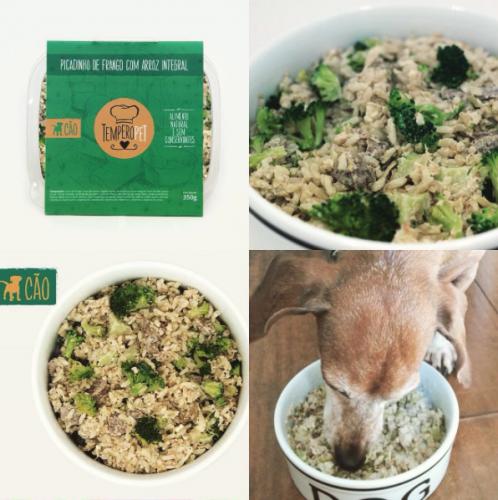 É saudável e tem aquele sabor de comida caseira que os cães adoram! (Foto: Divulgação)