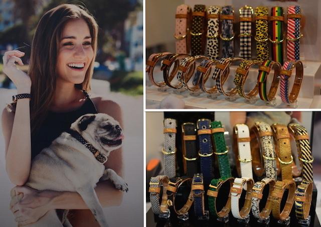 Coleira e pulseira que combinam. (Fotos: Karina Sakita)