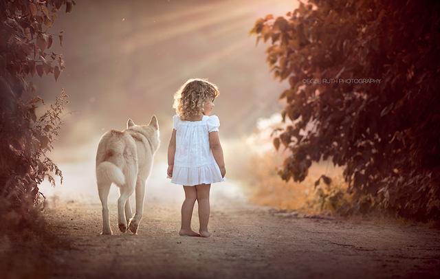 Foto de Egle Ruth dos Estados Unidos.  (Foto: Reprodução / child photo competition)