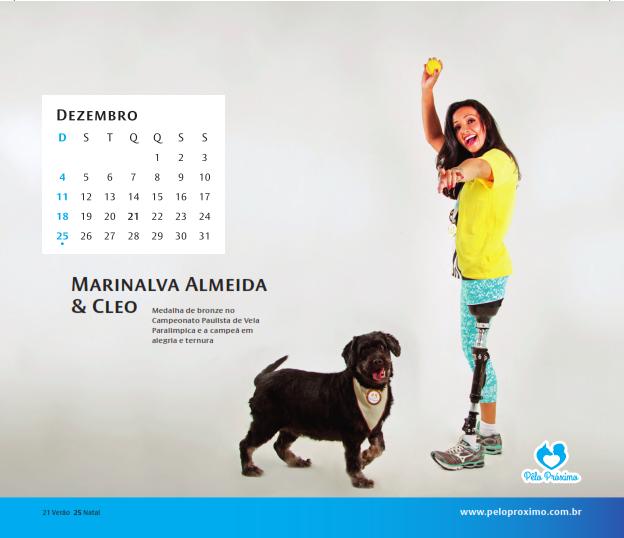 O calendário vai ajudar o projeto a continuar funcionando. (Foto: Luciana Botelha)